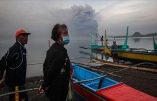 Filipinler'deki yanardağ patlamasının ardından...
