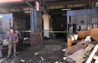 Başakşehir'de sanayi sitesinde patlama: 1 ölü,...