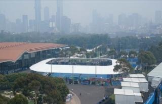 Hava kirliliği Avustralya Açık Tenis Turnuvası'nı...