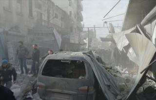 İdlib'e saldırılarda son 2,5 ayda 100'ü...