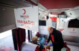İki milyonu aşkın bağışçı kanlarıyla umut...