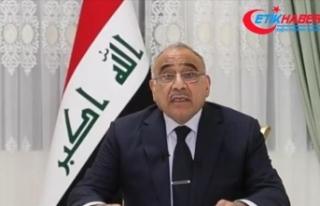 Irak Başbakanı Abdulmehdi: Saldırı, Irak ve bölgede...
