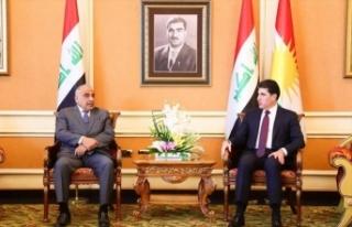 """Irak Başbakanı, Barzani ile """"İran ve ABD gerilimini""""..."""