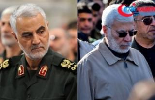 İranlı general Süleymani ve Haşdi Şabi Başkan...