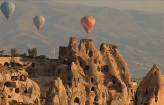 Kapadokya'da turist sayısında tüm zamanların...