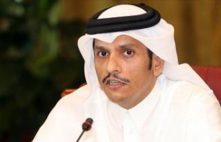 Katar Dışişleri Bakanı Al Sani: Türkiye'nin...