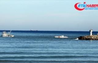 Kilyos açıklarında tanker ile balıkçı teknesi...