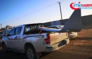 Libya'da UMH güçleri Hafter'e ait bir...