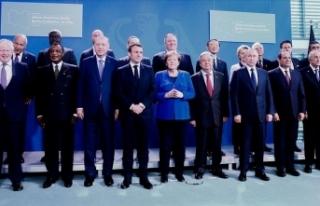 Liderler, Libya'da çatışmalara son verilmesi...