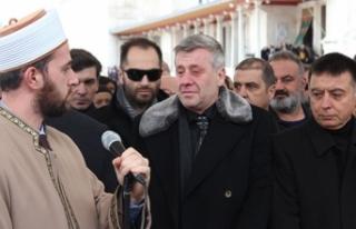 Metin Şentürk'ün babası son yolculuğuna...