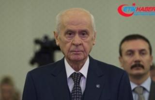 MHP Lideri Bahçeli'den ABD'ye Süleymani...