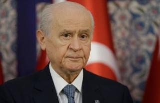 MHP Lideri Bahçeli'den, KKTC Cumhurbaşkanı...