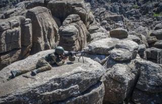 MSB: Irak'ın kuzeyinde bir asker ile güvenlik...