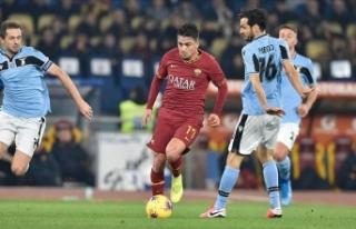 Roma derbisinde 'maçın oyuncusu' Cengiz...