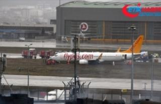 Sabiha Gökçen Havalimanı'nda iç hat uçuşları...