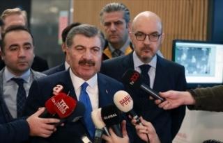 Sağlık Bakanı Koca: Koronavirüs tanısı alan...