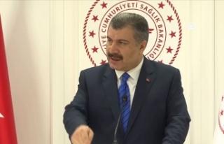 Sağlık Bakanı Koca: Tüm tedbirleri alıyoruz....