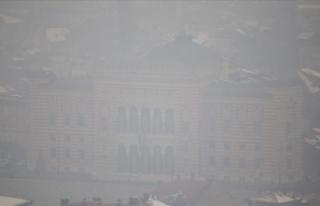 Saraybosna'da hava kirliliği sağlığı tehdit...