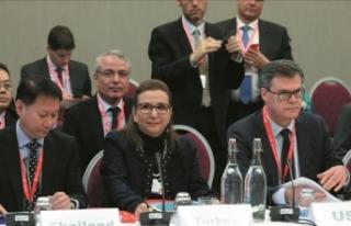Ticaret Bakanı Ruhsar Pekcan, Davos'ta DTÖ...