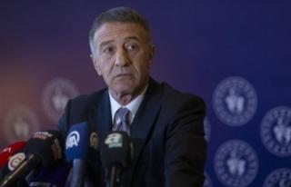 """Trabzonspor Başkanı Ahmet Ağaoğlu: """"Futbol..."""