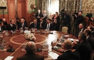 Türk ve Rus heyetlerin Libya'da kalıcı ateşkes...