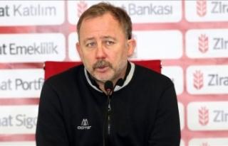 Yeni Malatyaspor Kulübü Sergen Yalçın ile yollarını...