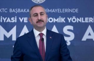 Adalet Bakanı Gül: Kapalı Maraş, Kuzey Kıbrıs...