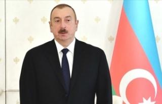 """Azerbaycan Cumhurbaşkanı Aliyev: """"Türk halkına..."""