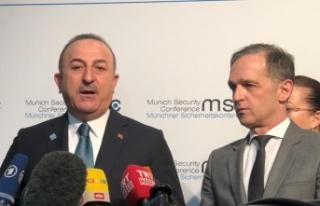 """Bakan Çavuşoğlu: """"Libya'da tek çözüm..."""