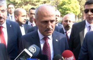 """Bakan Turhan: """"Neden Suriye'de, Libya'da..."""