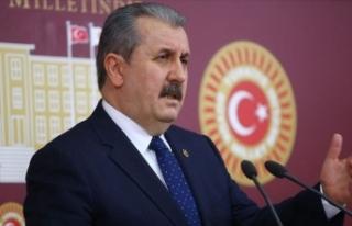 BBP Genel Başkanı Destici: PKK'nın kendisi...