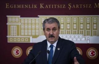 BBP Genel Başkanı Mustafa Destici, Meclis'te...
