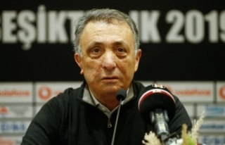 Beşiktaş Kulübü Başkanı Ahmet Nur Çebi'nin...