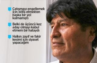 Bolivya'nın eski lideri Morales siyasi sığınmacı...