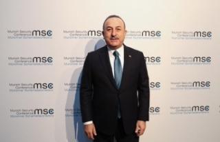 Çavuşoğlu, 56. Münih Konferansı'nda