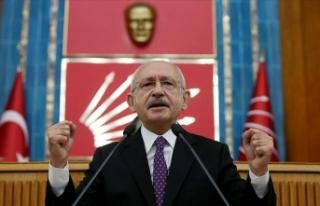 CHP Genel Başkanı Kılıçdaroğlu: Filistin davasına...