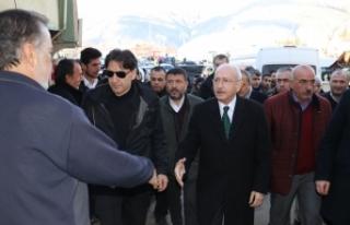 CHP Lideri Kemal Kılıçdaroğlu, Malatya deprem...