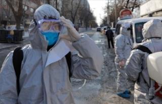 Çin'de Kovid-19 salgınından ölenlerin sayısı...