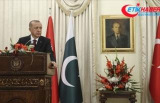 Cumhurbaşkanı Erdoğan: Türkiye, Keşmir sorununun...