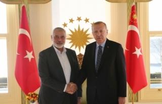 Cumhurbaşkanı Erdoğan, Hamas Lideri İsmail Heniyye'yi...