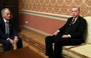 Cumhurbaşkanı Erdoğan, Kırım Tatar halkının...