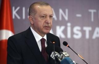 Cumhurbaşkanı Erdoğan: Türkiye'ye yatırım...