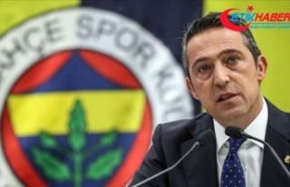 Fenerbahçe Kulübü Başkanı Koç: Şampiyon olacağımıza...