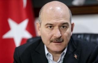 İçişleri Bakanı Soylu: 96 milyon lira AFAD'a,...