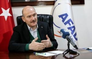 İçişleri Bakanı Soylu: Elazığ ve Malatya'da...