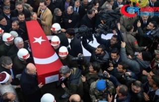 İdlib şehitlerimiz son yolculuklarına uğurlanıyor