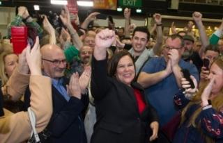 İrlanda'da seçimin galibi IRA'nın siyasi...