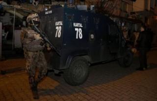 İstanbul'da uyuşturucu operasyonunda 44 şüpheli...