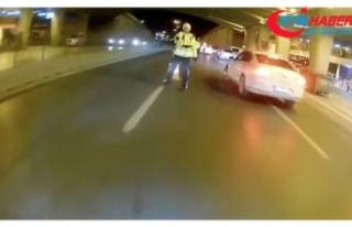 İstanbul'da trafikte terör estiren motosikletli,...