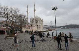 İstanbul'da sıcaklıklar mevsim normallerine yükselecek